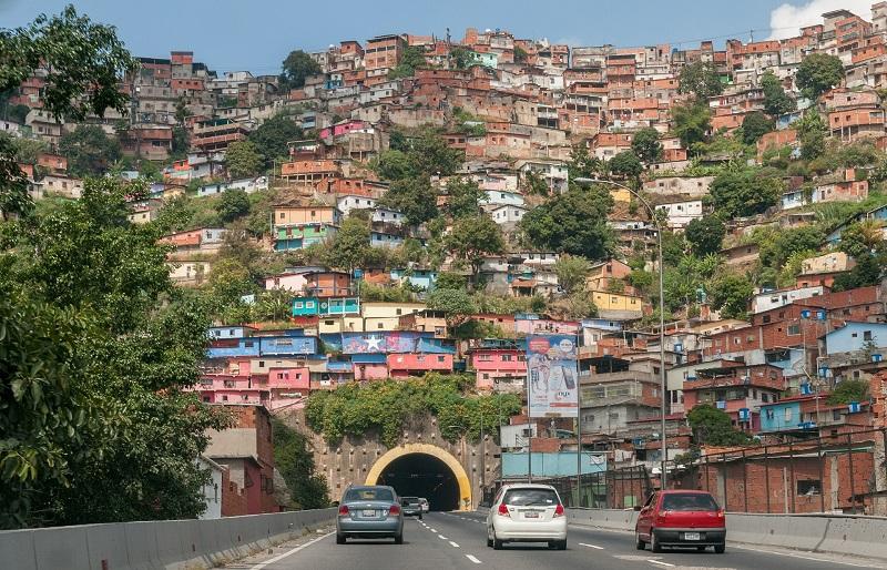 Barrio, Caracas, Venezuela